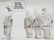 Image of Button, button, who's got the button? - Kelley, Steve, 1958?-